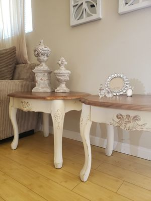 NEWLY REDESIGNED GORGEOUS FRENCH COUNTRY SOFA TABLE SET for Sale in Sacramento, CA