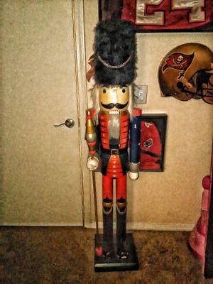 Life size nutcracker statue for Sale in Tampa, FL