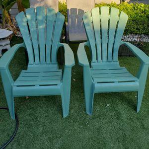 Heavy Plastic Deck Chairs, Super Comfortable for Sale in San Marino, CA