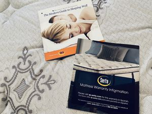 California King Serta Sleeper Mattress, W/ Box Spring & Iron Support System for Sale in La Quinta, CA