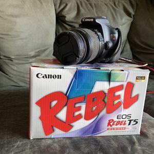 Canon EOS Rebel T5 for Sale in Rohnert Park, CA