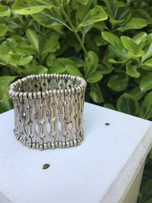 """2"""" Wide Metal Bracelet. Really Cool. Pick up in East Clayton Any day for Sale in Clayton, NC"""