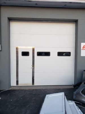 installation and repair of garage doors. If your garage is old we'll put it on again 100/100 for Sale in Providence, RI
