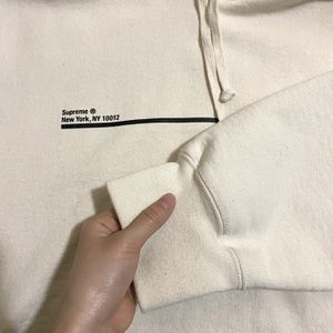 Authentic Beige Supreme Hoodie SS2020 for Sale in Lake Forest Park, WA