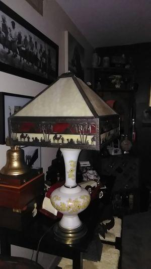 Antique stainglass camel lamp for Sale in Tucson, AZ