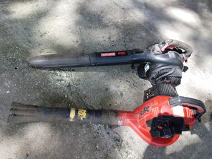 Two Craftsman leaf blowers for Sale in Dover, FL