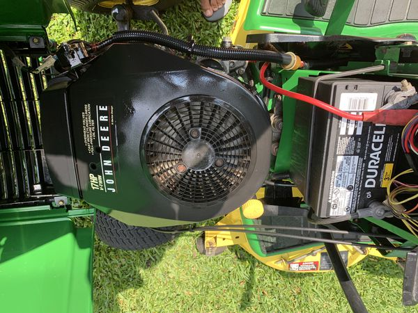 "John Deere LX277 lawn mower / tractor with 48"" cutting deck or D100 with 42 inch deck for $700"