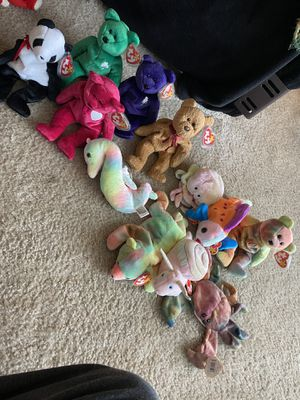Beanie babies basically brand new I have tons more for Sale in Toms River, NJ