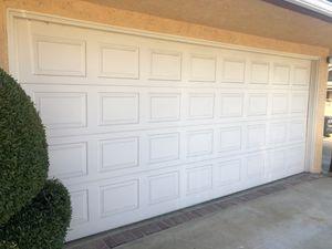 16x7 used garage door for Sale in Anaheim, CA