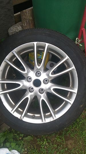 2 Infinity rims with tires for Sale in Framingham, MA