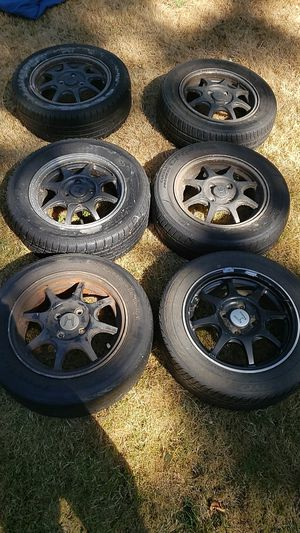 89 to 92-ish Honda Rims for Sale in Seattle, WA
