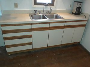 Kitchen Cabinets with counter top for Sale in University Heights, OH