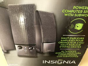 Insignia computer speaker and subwoofer for Sale in Concord, MA