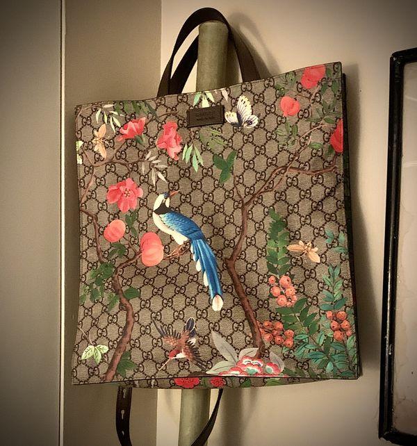 Gucci Tian Tote Bag