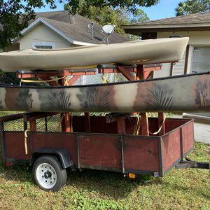 Kayak Paddleboard Canoe Trailer for Sale in DeBary, FL