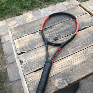 Wilson Pro Staff 97 - Red/Black - 4 1/4 Grip for Sale in Los Angeles, CA