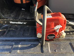 """14"""" homelite chain saw for Sale in Wethersfield, CT"""