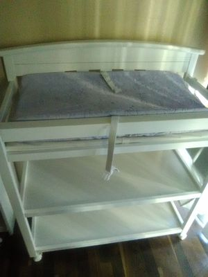 White changing table for Sale in North Las Vegas, NV