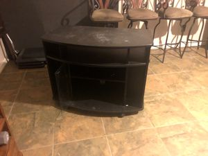 Tv stand. missing glass front door. for Sale in Mesquite, TX