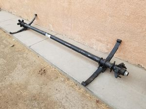 Brand New Trailer Axles 3.5k capacity for Sale in Visalia, CA