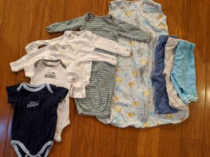 Baby boys clothes size 0-3, 3-6 months lot of 9 for Sale in Tewksbury, MA