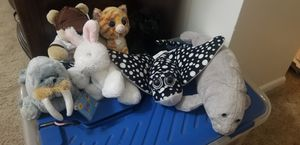 Assorted plush toys for Sale in Brandon, FL