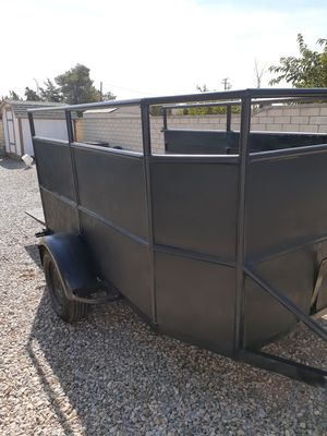 THIS TRAILER IS READY TO GO.(6X10 single axle trailer) PERFECT FOR DAY TO DAY USE. for Sale in Hesperia, CA