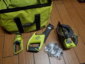 Ryobi power tools and bag for Sale in Canoga Park, CA