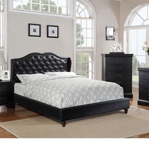 Queen Bed 🛌 With Mattress for Sale in Fort Lauderdale, FL