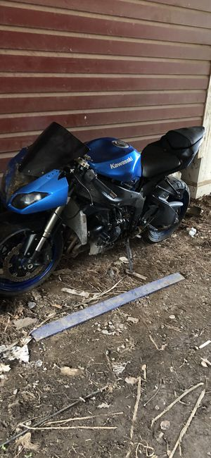2009 Kawasaki ninja 600cc $800 sold as is, needs work done or trade for 125cc or 250cc dirt bike for Sale in Washington, DC