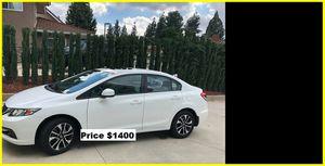 Price$1400 Honda Civic EXL for Sale in Portland, ME