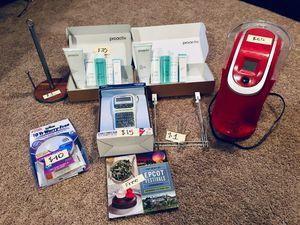 Keurig, Smoke and CO alarm, Proactive, Label Maker, Paper Towel Holder, Door Hanger, Cook Book for Sale in San Pedro, CA