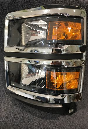 2014-15 Chevrolet Silverado Left/driver side Headlight, Brand TYC,; aftermarket part for Sale in Lake Worth, FL