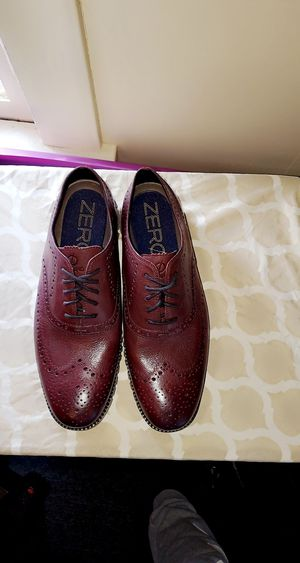 Cole hann zerogrand Brown Mens 10 Brand New wingtip Oxford for Sale in Massillon, OH