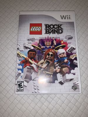 Wii LEGO Rock Band for Sale in Boca Raton, FL