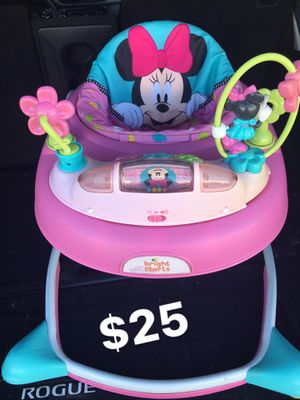 Disney Baby Pink Minnie Mouse PeekABoo Walker for Sale in San Antonio, TX
