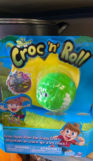 Croc n roll for kids for Sale in Sacramento, CA