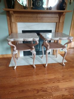 Vintage Marble Top Tables for Sale in Gibsonia,  PA