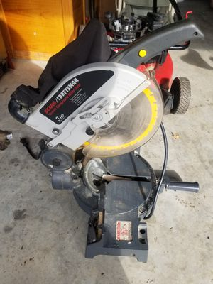"Sears Craftsman 10"" Compound Miter Saw & Table $75 for Sale in Martinsburg, WV"