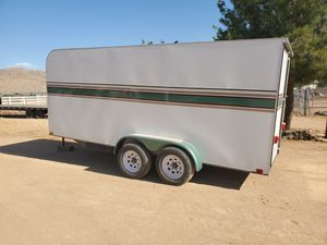 Custom enclosed trailer for Sale in Apple Valley, CA