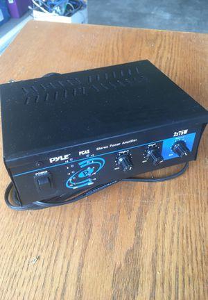 Pyle amplifier 2x75W for Sale in Centennial, CO