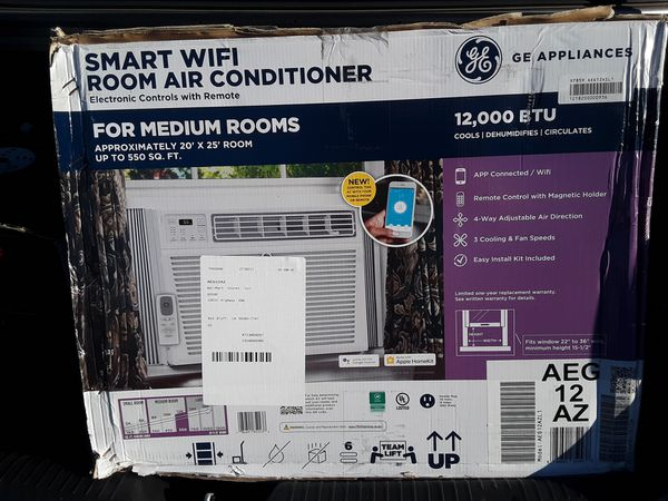 Smart WIFI Room Air Conditioner, G.E. ,
