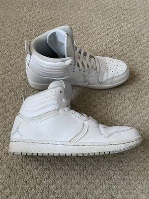 All White Jordan hi tops 23 MJ size 9 for Sale in South Miami, FL