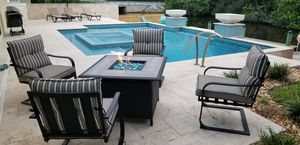 Outdoor furniture and firepit for Sale in Palm Shores, FL