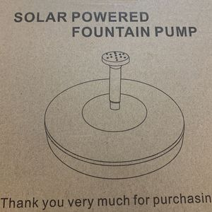 2 Solar Powered Fountain for Sale in El Paso, TX