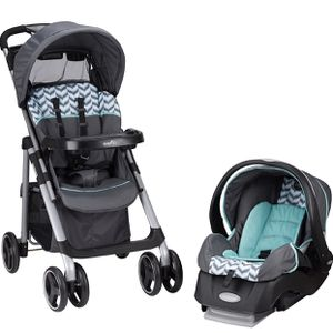 Evenflo Vive Travel System with Embrace, Spearmint Spree for Sale in Las Vegas, NV