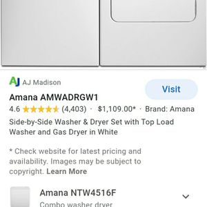 Washer And Dryer-Laundrymat Saver for Sale in Columbia, SC