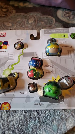 Marvel Tsum Tsum series 2 classic Avengers for Sale in Tamarac, FL