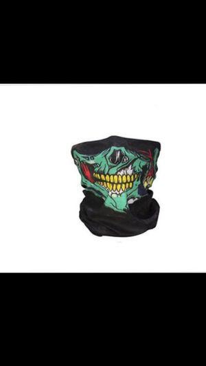 Green Half Face Mask for Sale in San Bernardino, CA