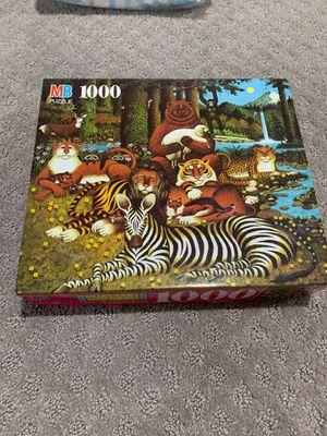1000 piece animal puzzle for Sale in Alexandria, VA